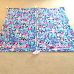 NWOT Lilly Pulitzer Beach Towels